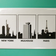 Magnet Mulhouse-New-York-Paris par Mehdi Bouti